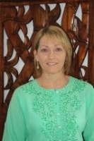 Carolyn Stone - qualified in manicures, pedicures, Reflexology and Asst Podiatry
